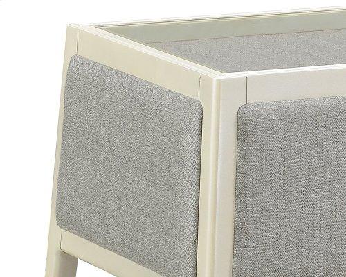Emerald Home Marcella Sofa Table Dove Gray T3325-02