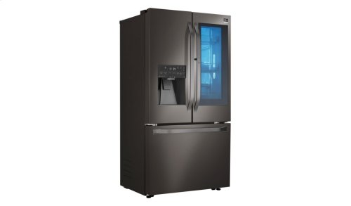 LG STUDIO - 24 cu. ft. InstaView Door-in-Door® Counter-Depth Refrigerator