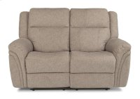 Silas Fabric Power Reclining Lovesear with Power Headrests Product Image
