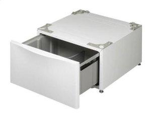 Laundry Pedestal - White