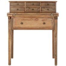 Abigail Fold Down Desk - Oak