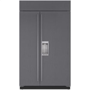 "Subzero48"" Built-In Side-by-Side Refrigerator/Freezer with Dispenser - Panel Ready"