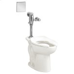 American StandardMadera ADA Toilet with Selectronic Exposed AC Flush Valve System - White