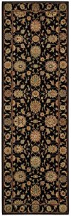 LIVING TREASURES LI05 BLK RUNNER 2'6'' x 8'