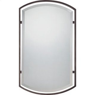 Breckenridge Mirror in Palladian Bronze