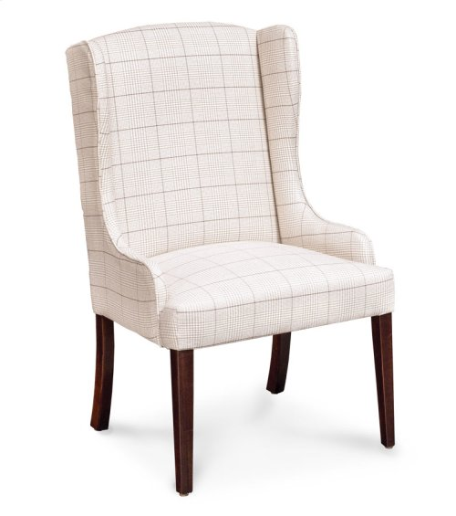 Byron Arm Chair, Fabric Seat and Back