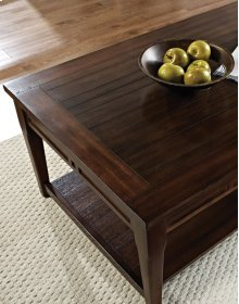 "Crestline Lift Top Cocktail Table w/ Casters, 48""x30""x19"""