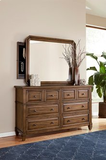 Mirror with Jewelry Storage