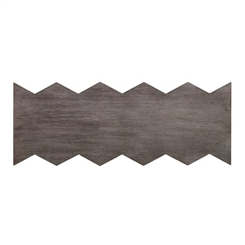 Accordion Console Table - Steel