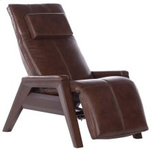 Gravis ZG Chair - Saddle - Mahogany