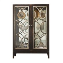 Cosmopolitan Curio with Glass Doors