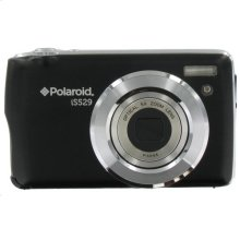 Polaroid 16-Megapixel Ultra Slim 20x Enhanced Optical Zoom Digital Camera with 2.7-Inch LCD Screen, iS529-BLK-BOX