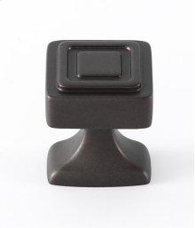 Cube Knob A985-14 - Chocolate Bronze