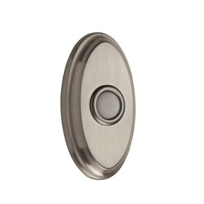 Satin Nickel BR7016 Oval Bell Button