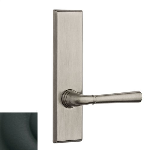 Satin Black Traditional L027 Lever Screen Door
