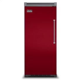 "Apple Red 36"" Quiet Cool™ All Refrigerator - VIRB Tru-Flush™ (Left Hinge Door)"