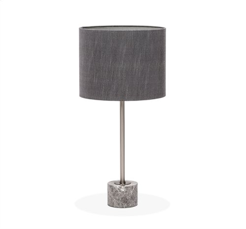 Beck Table Lamp - Italian Grey