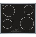 24' Electric Cooktop 500 Series - Black with Stainless Steel Frame