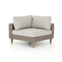Stone Grey Cover Remi Outdoor Sectional-corner Piece