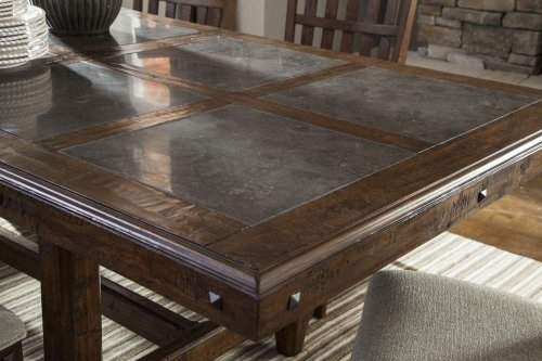 Intercon Dining Room Wolf Creek Stone Top Table