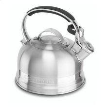 KitchenAid® 2.0-Quart Kettle with Full Stainless Steel Handle and Trim Band - Stainless Steel Finish