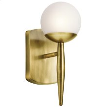 Jasper Collection Jasper 1 Light Halogen Wall Sconce in NBR