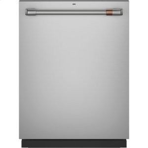 Caf(eback) Stainless Interior Built-In Dishwasher with Hidden Controls - STAINLESS STEEL