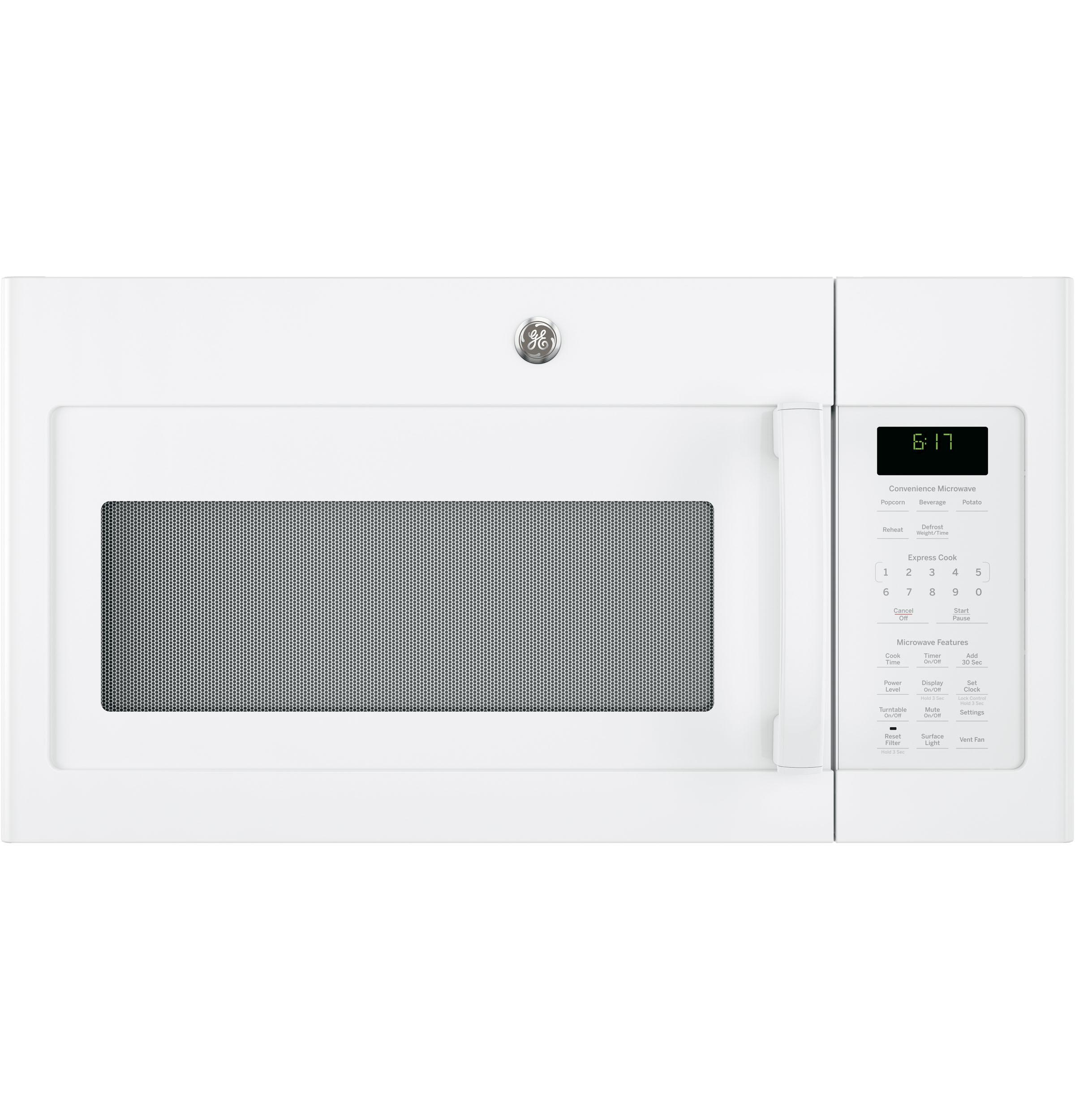 GE(R) 1.7 Cu. Ft. Over-the-Range Microwave Oven  WHITE