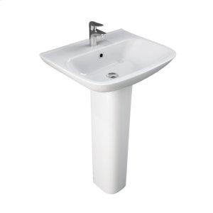 Eden 520 Pedestal Lavatory - White Product Image