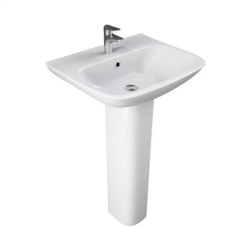 Eden 520 Pedestal Lavatory - White