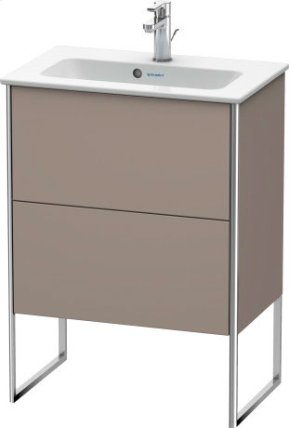 Vanity Unit Floorstanding Compact, Basalt Matt (decor)