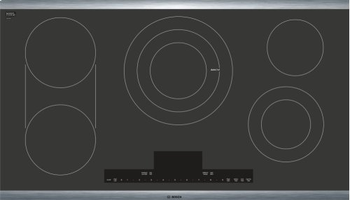 "Benchmark 36"" Electric Cooktop"