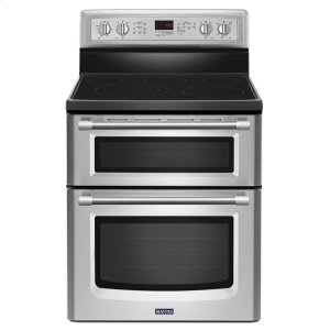 Maytag 30-Inch Wide Double Oven Electric Range With Convection - 6.7 Cu. Ft.