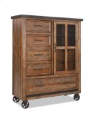 Taos Five Drawer Gentleman's Chest Product Image