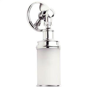 Satin-Nickel Single Light Product Image