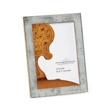 "Silver glomise Picture Frame (5""X7"")"