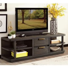 Precision - Entertainment Console - Umber Finish