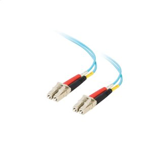 9m Value Series LC LC 10G Duplex PVC Fiber Cable