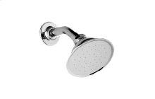 Elegant Showerhead with Shower Arm