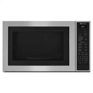 "Stainless Steel 25""Countertop Microwave Oven with Convection"