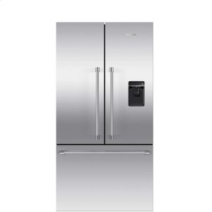 Fisher & PaykelFrench Door Refrigerator 20.1 cu ft, Ice & Water