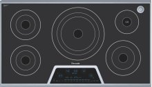Masterpiece 36 Electric Cooktop with Touch Control and SensorDome and Bridge Element CES365FS