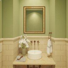 Senna Round Above-counter Vitreous China Bathroom Sink