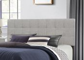 Delaney Headboard - Full/queen - Glacier Gray Fabric