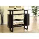 """HOME BAR - 48""""L / CAPPUCCINO WITH BOTTLE / GLASS STORAGE Product Image"""