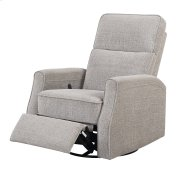 Swivel Glider Recliner-beige #dtc1422-3 Product Image