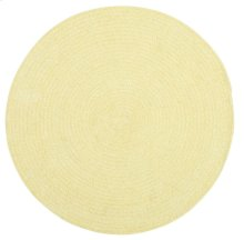 Yellow Chenille Creations Round