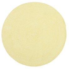 Yellow Chenille Creations Round