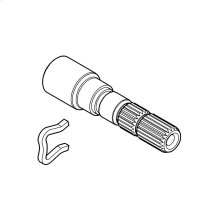 Extension for spindle