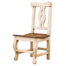 White/Walnut Alis Chair